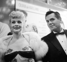 """Lucille Ball said the day she married Desi Arnaz was """"the most momentous day"""" in her life. However, there were some things about him she didn't agree with. Wedding Night, Our Wedding, God Made A Woman, I Love Lucy, My Love, Lucy Star, Desi Arnaz, Young Actors, Lucille Ball"""
