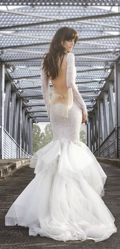 Zahavit Tshuba 2015 Bridal Collection | bellethemagazine.com