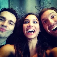 Crazy! - Cast of Being Human SyFy - Sam Witwer, Meaghan Rath, Sam Huntington :)