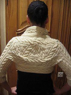 Ravelry: Cabled Bolero pattern by Norah Gaughan Bolero Pattern, Cropped Knit Sweater, Knitting Patterns, Knitting Ideas, Ravelry, Ruffle Blouse, Product Description, Turtle Neck, Sweaters