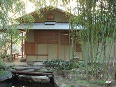Pavillon de thé et jardin japonais, annexes du musée Guimet situées au 19 avenue d'Iéna 75116 Paris