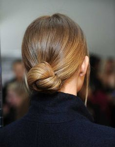 Hair Inspiration 16 Buns For Any Occasion Chignon Top Knot Up Do Hairstyle Low Bun Hairstyles, My Hairstyle, Pretty Hairstyles, Wedding Hairstyles, Quinceanera Hairstyles, Hairstyle Tutorials, Simple Elegant Hairstyles, Hairstyle Ideas, Pulled Back Hairstyles