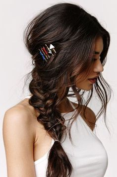 Romantic Long Braided Hairstyles 2018 with Lush Waves to Get An Exceptional Look
