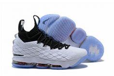 new product f5771 c6c06 New Arrival Nike LeBron 15 Graffiti White Black-Black-University Red For  Sale