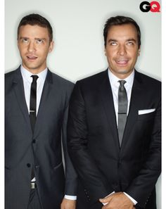And still adorable!  Jimmy Fallon & Justin Timberlake