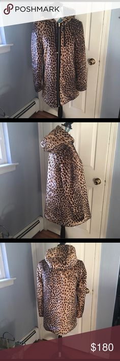 🔴🔥🔥🔥Flash Sale!Zara Trf leopard print coat Very soft and warm.Worn twice.. Zara Jackets & Coats