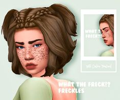 The Sims 4 Freckles by angrysublimenut Sims Four, Sims 4 Mm Cc, Sims New, My Sims, The Sims 4 Skin, Maxis, The Sims 4 Packs, Pelo Sims, Casas The Sims 4