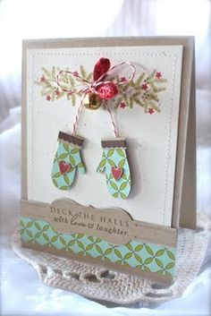 ~Deck the halls with love and laughter card