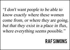 Quotre from Raf Simons at Christian Dior Spring-Summer 2014 Fashion Show Paris Fashion, Fashion Show, Summer 2014, Spring Summer, Raf Simmons, Strength Of A Woman, Old Names, Fashion Weeks, Christian Dior