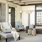 By layering neutral colors, cool textures, and lots of natural light, architect Bobby McAlpine and designer Susan Ferrier created a Florida beach house that's refined yet relaxing.