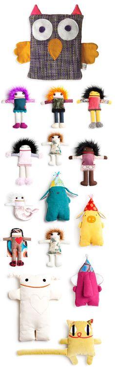 Fun DIY stuffed toys
