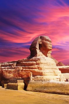 The Sphinx, Giza, Egypt. Lets travel to Egypt! Its on the route of your dream travel journey! Sign up to win the Journey of a Lifetime at www.aroundtheworldinnyc.com/contest