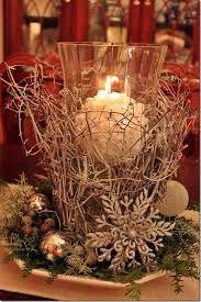 Resultado de imagen para christmas arrangements with candles