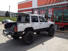95 Cherokee pickup conversion.. Would be a fun project..!! Somethin different..!