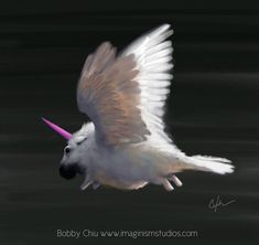 Flying baby unicorn by imaginism on deviantART