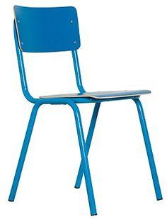 Der Klassiker! Der Schulstuhl in vielen bunten Farben. Neu im Programm - der Stuhl jetzt in schwarz.