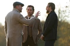 Guy Ritchie's next film 'The Gentlemen' stars Matthew McConaughey, Charlie Hunnam, Hugh Grant, and more in a tale of American and British drug trade. Charlie Hunnam, Gentleman Stil, Gentleman Movie, Film D'action, Bon Film, Michelle Dockery, Colin Farrell, Ray Liotta, Robert Downey Jr