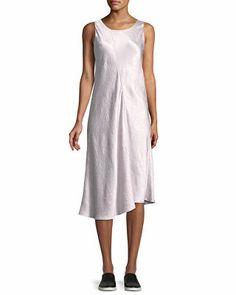 83876ecbb9 Vince Designer Bias-Cut Sleeveless Midi Dress