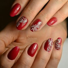 Photo Christmas Nail Art Designs, Christmas Nails, Art Model, Natural Nails, Pretty Nails, Hair And Nails, Manicure, Nail Designs, Lily