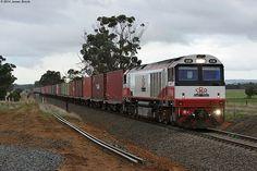Australia - Freight train CSR010 at Barwon Park Loop with 9721V | Flickr - Photo Sharing!