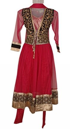 Megenta Colour Girls Party Wear Punjabi Suit, Vasundhara Fashions Indian Clothing