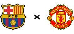 #Barcelona e #ManchesterUnited, vice-campeões espanhóis e ingleses, encontram-se na Suécia e repetem amigável do ano passado. Boas #apostas