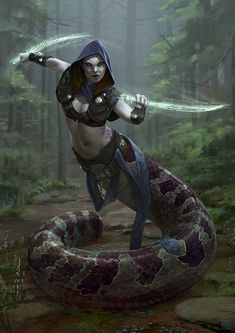 Dark Fantasy Art, Fantasy Rpg, Fantasy Artwork, Fantasy Races, Fantasy Warrior, Fantasy Fighter, Warrior Angel, Mythical Creatures Art, Mythological Creatures