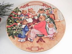 Wall Hanging Plate Christmas Decoration Vintage by Holiday365