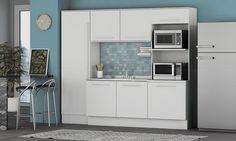 Cozinha Modulada Completa 4 Módulos Unique Branco - Kappesberg