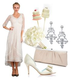 """""""Wedding Theme"""" by wardrobeshop ❤ liked on Polyvore featuring Nataya and vintage"""