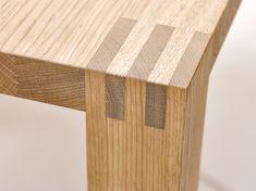 Esstisch Ascoli Schlitz und Zapfen solide verleimte Holzverbindung
