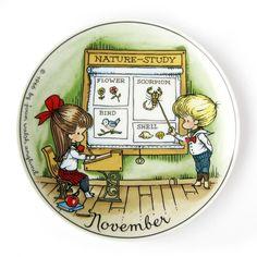 Louise Little, Scorpio Birthday, Joan Walsh, Nature Study, Astrology Signs, Handmade Items, Handmade Gifts, November, Plate