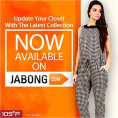 Shop in style at Jabong - http://www.jabong.com/women/clothing/109F/