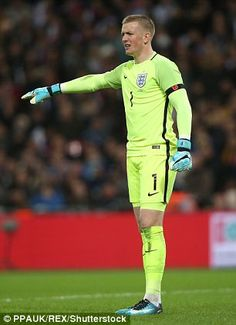 Jordan Pickford enterred his name for next summer's World Cup with a clean sheet againt the World champions England Players, Gareth Southgate, England National, Beautiful Men Faces, England Football, National Football Teams, Goalkeeper, Cristiano Ronaldo, Football Players