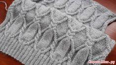 Платье или пуловер. Обсуждение на LiveInternet - Российский Сервис Онлайн-Дневников Knitting Stiches, Knitting Charts, Knitting Patterns Free, Knit Patterns, Stitch Patterns, Free Pattern, Knitting Designs, Pull, Cable Knit