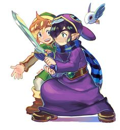 This picture makes me so happy!  (Probably because it contains both Link AND Ravio!)