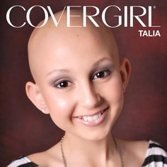 A 13-year-old cancer sufferer, who became a YouTube star thanks to her inspired make-up video tutorials, has become an honorary face of CoverGirl. [click on photo to read the rest of the story]