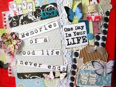 Craft in Style: collage. canvas. painting