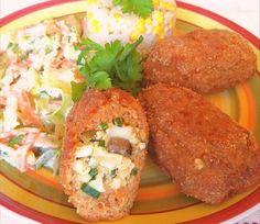 Zrazy 🌿 Baked Potato, Potatoes, Baking, Ethnic Recipes, Food, Bakken, Eten, Bread, Potato