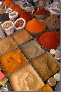African Spices.                                                                                                                                                                                 More