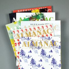 Beekman 1802 Almanac - Annual Subscription #all-goods #Beekman-Holiday-Gift-Guide-2017 #beekman-library