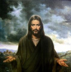 Face of Jesus01 by Waiting For The Word, via Flickr