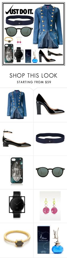 """""""JUST DO IT"""" by justinallison ❤ liked on Polyvore featuring La Condesa, NIKE, Valentino, Nina Ricci, Marc by Marc Jacobs, Spitfire, South Lane, Samantha Wills and Van Cleef & Arpels"""