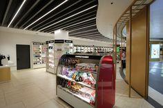 A&T Consulting - Aelia Duty Free | Avancorpo T3 Aeroporto Fiumicino - A&T Consulting  #AeliaDutyFree #Fashion #Luxury #Retail #Shop #Travel #Esedra #Brand #Interior #Architecture #Airport #AvancorpoT3 #ATConsulting