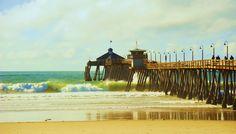 Imperial Beach Pier Imperial Beach Pier, Spring Break, Summer, Us Beaches, My Town, San Diego, Taj Mahal, The Neighbourhood, Paradise