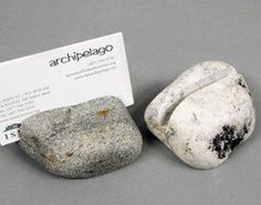 Stone Business Card Holder
