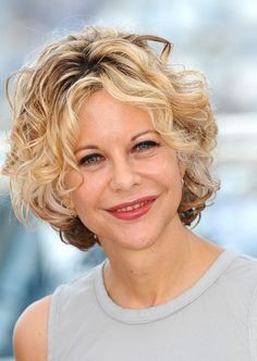 Simple, but chic hairstyles that are the sort of hairstyles that Meg Ryan always wears for any haircut she's. That's why many women take her as a role model.