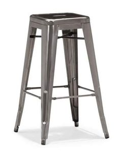Classic Party Rentals, Marcus Stool - Gun Metal