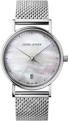 Georg Jensen Watch Koppel 32mm Quartz #add-content #bezel-fixed #bracelet-strap-steel #brand-georg-jensen #case-depth-8-4mm #case-material-steel #case-width-32mm #date-yes #delivery-timescale-1-2-weeks #dial-colour-white #gender-ladies #luxury #movement-quartz-battery #official-stockist-for-georg-jensen-watches #packaging-georg-jensen-watch-packaging #style-dress #subcat-koppel #supplier-model-no-3575704 #warranty-georg-jensen-official-2-year-guarantee #water-resistant-30m