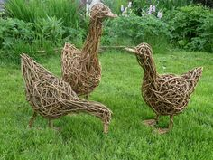 Woven Willow - Willow Sculptures